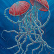Scifi Jellies Poster