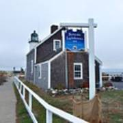 Scituate Lighthouse 1 Poster