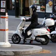 Scooter Girl Paris 1 Poster
