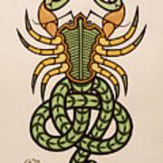 Scorpio Poster by Ian Herriott