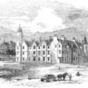Scotland: Balmoral Castle Poster