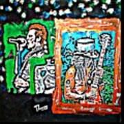 Scott Weiland And Slash Poster