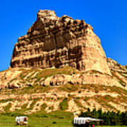 Scotts Bluff National Monument Panorama Poster