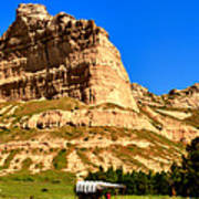 Scotts Bluff National Panoramic Landscape Poster
