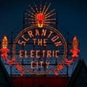 Scranton - The Electric City Poster