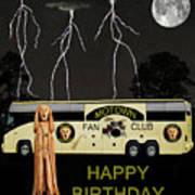 Scream Motown Tour Poster