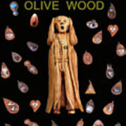 Scream Olive Wood Poster by Eric Kempson
