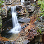 Screw Auger Falls - Maine  Poster