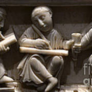 Scribes, 10th Century Poster
