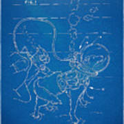 Scuba Doggie Patent Artwork 1893 Poster by Nikki Marie Smith