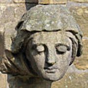 Sculpted Head Of Woman. Poster