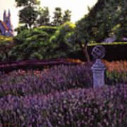 Sculpture Garden Poster by David Lloyd Glover