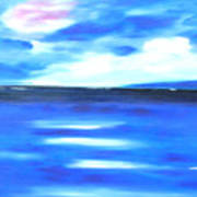 Sea Blue Sky Poster