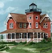 Sea Girt Lighthouse Poster