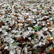 Sea Glass From Mother Nature  Poster