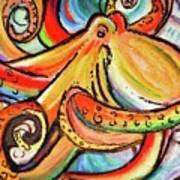 Sea Me Swirl Poster