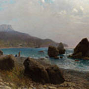 Sea Shore Crimea Poster