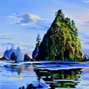 Sea Stack Serenity Poster