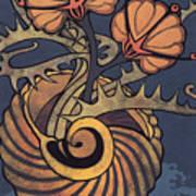Sea Vase Poster