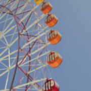 Seacle Ferris Wheel Poster