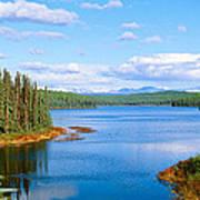 Seaplane On Talkeetna Lake, Alaska Poster