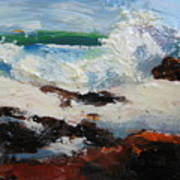 Seascape Aceo  Poster