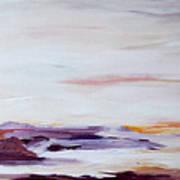 Seascape Nr 2 Poster by Carola Ann-Margret Forsberg