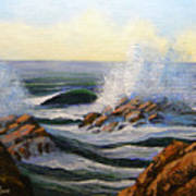 Seascape Study 1 Poster
