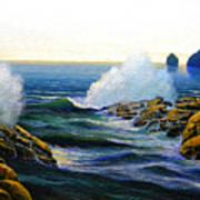 Seascape Study 3 Poster