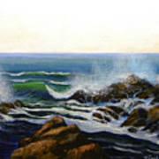 Seascape Study 5 Poster