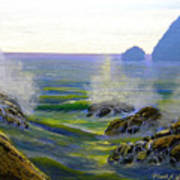 Seascape Study 7 Poster