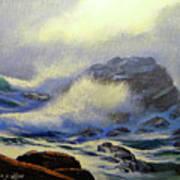 Seascape Study 8 Poster