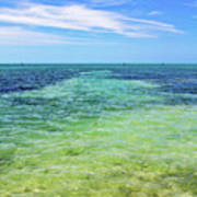 Seascape - The Colors Of Key West Poster