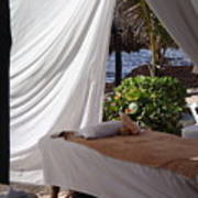 Seaside Massage Poster