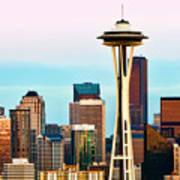 Seattle Daylight Poster