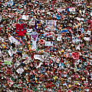 Seattle Gum Wall #2 Poster