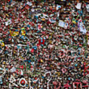 Seattle Gum Wall Poster
