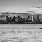 Seattle Skyline 3 Poster