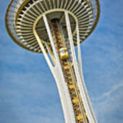 Seattle Space Needle Poster