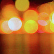 Seattle Unfocused - From Alki Poster
