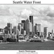 Seattle Water Front Poster