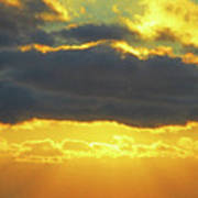 Seaview Sunset 3 Poster