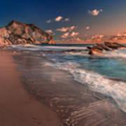 Secret Beach Greece Poster