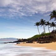 Secret Beach Maui Sunrise Poster
