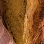 Sedona Canyon Abstract Poster