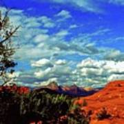 Sedona Capitol Butte Poster
