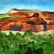 Sedona Landscape Poster