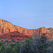 Sedona Panoramic - Highway 179 Poster