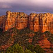 Sedona Red Rocks Poster