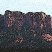 Sedona Rock Formation Poster